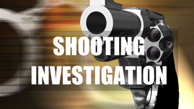 One Shot In Alley Behind SW OKC Shopping Center