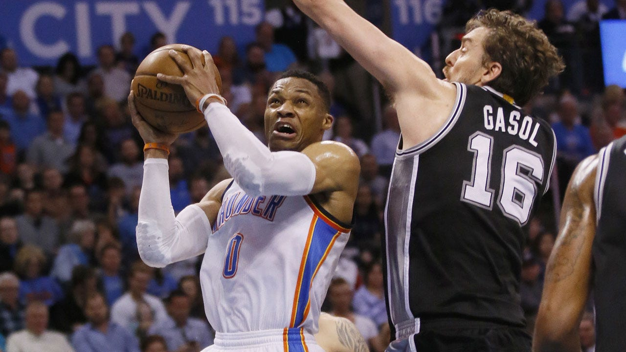 Westbrook's Triple-Double Not Enough As Thunder Squander 21-Point Lead In Loss To Spurs