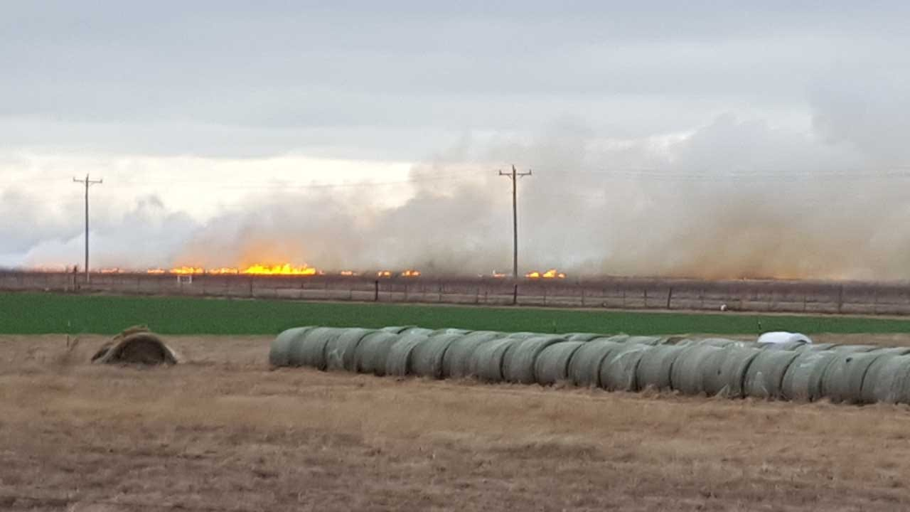 Wildfire Near Fort Reno Prompted Evacuations
