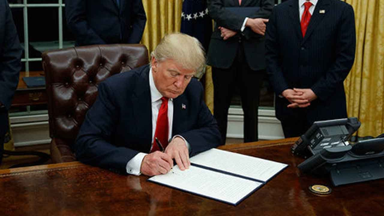 Trump's New Travel Order To Apply To Those Seeking New Visas