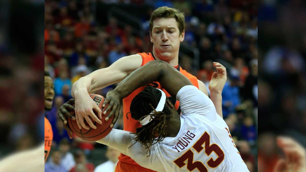 Cowboys Can't Break Iowa State Curse, Ousted From Big 12 Tourney