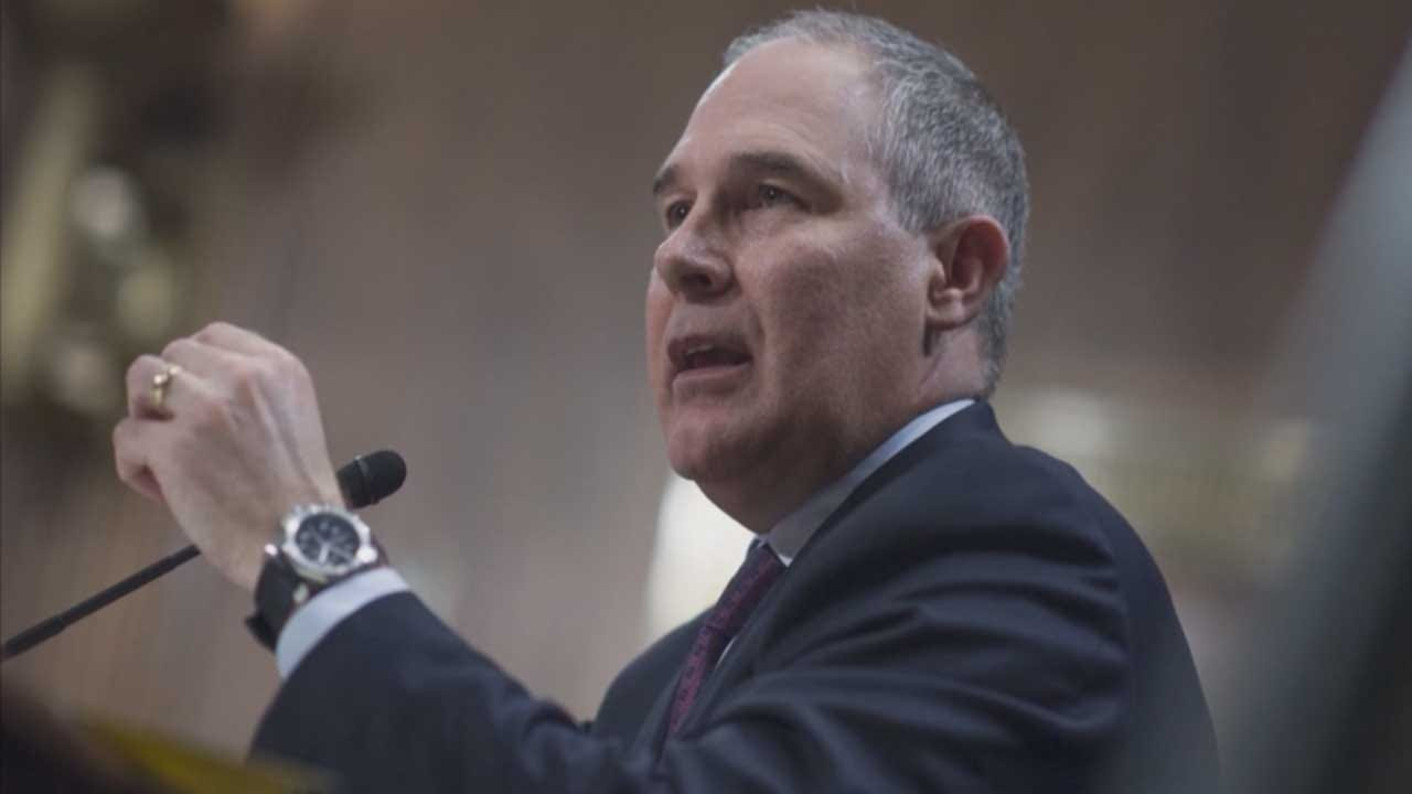 EPA Chief Pruitt: Carbon Dioxide Not Main Cause Of Global Warming