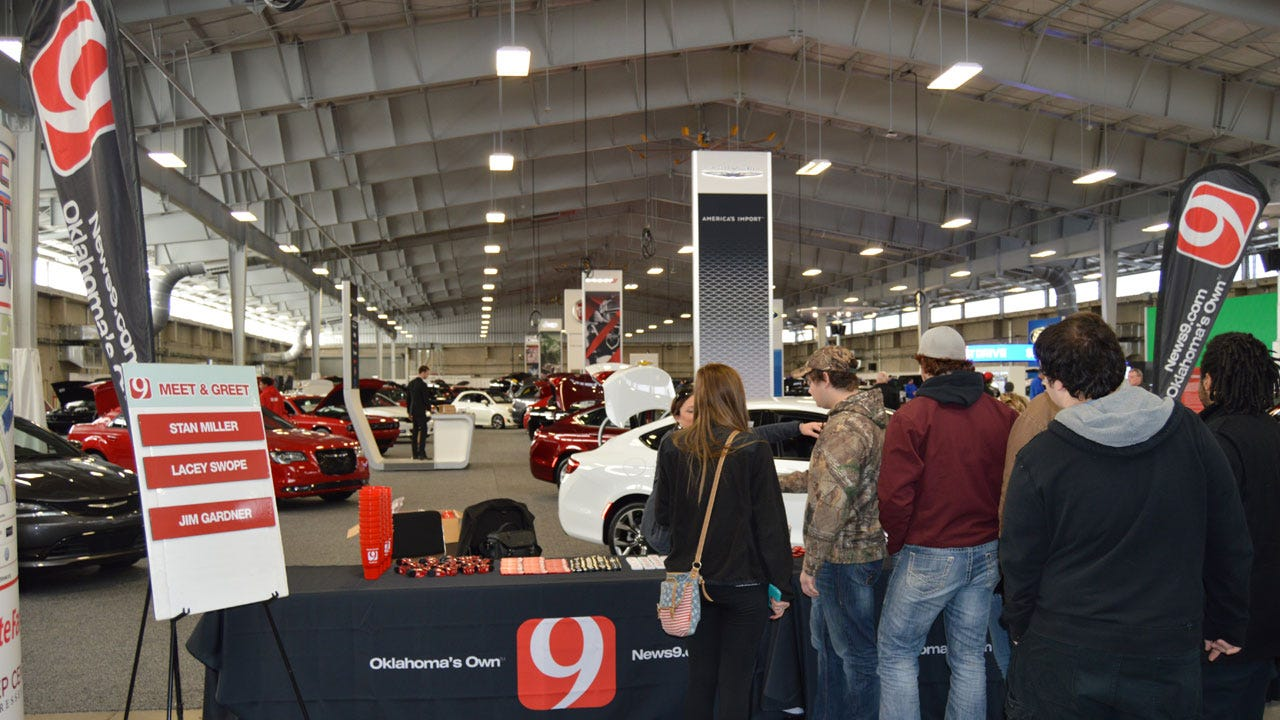 Join News 9 At The OKC Auto Show This Friday