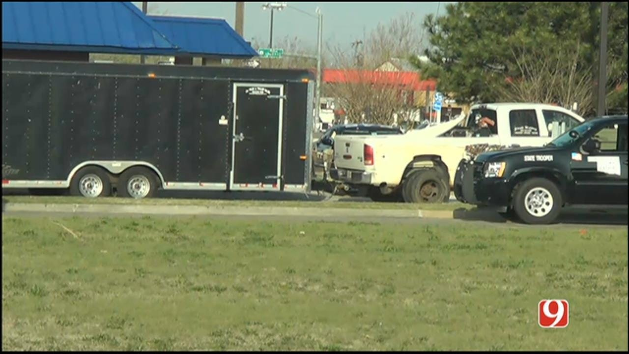 Suspect In Elk City Stolen Car Pursuit Arrested In OKC