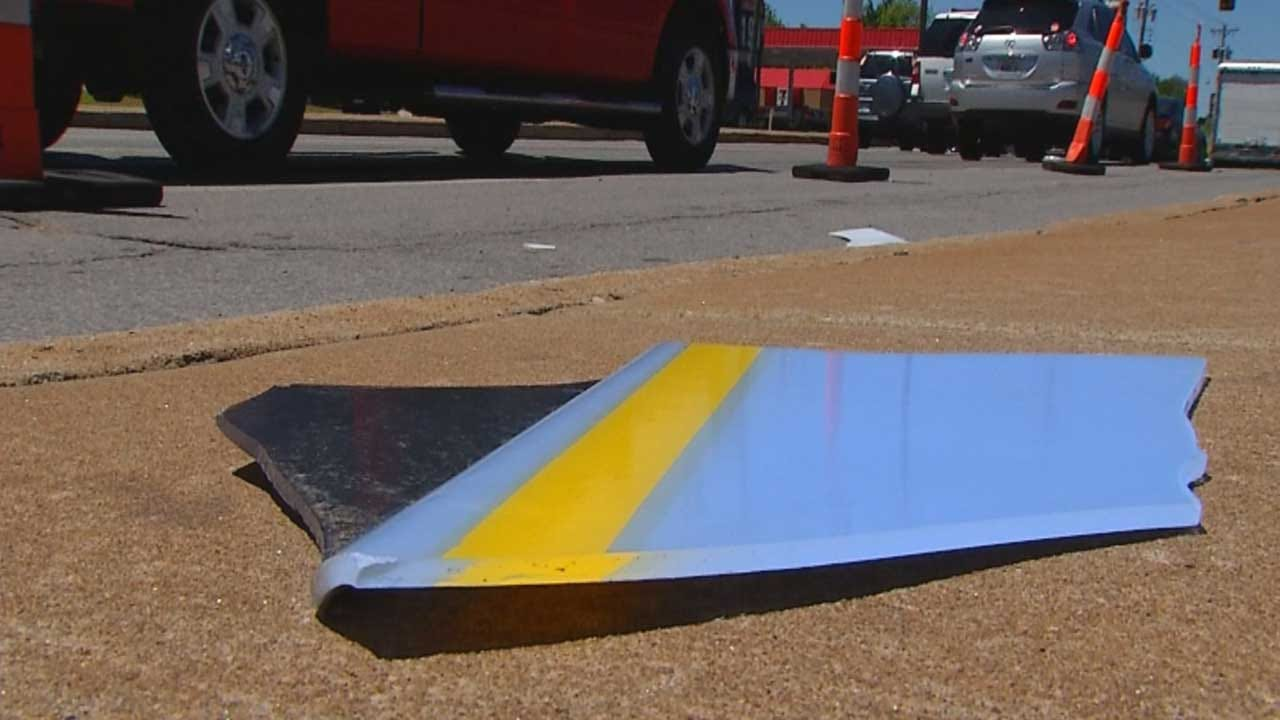 OKC Design Company Helps Small Business Replace Signs After Storm
