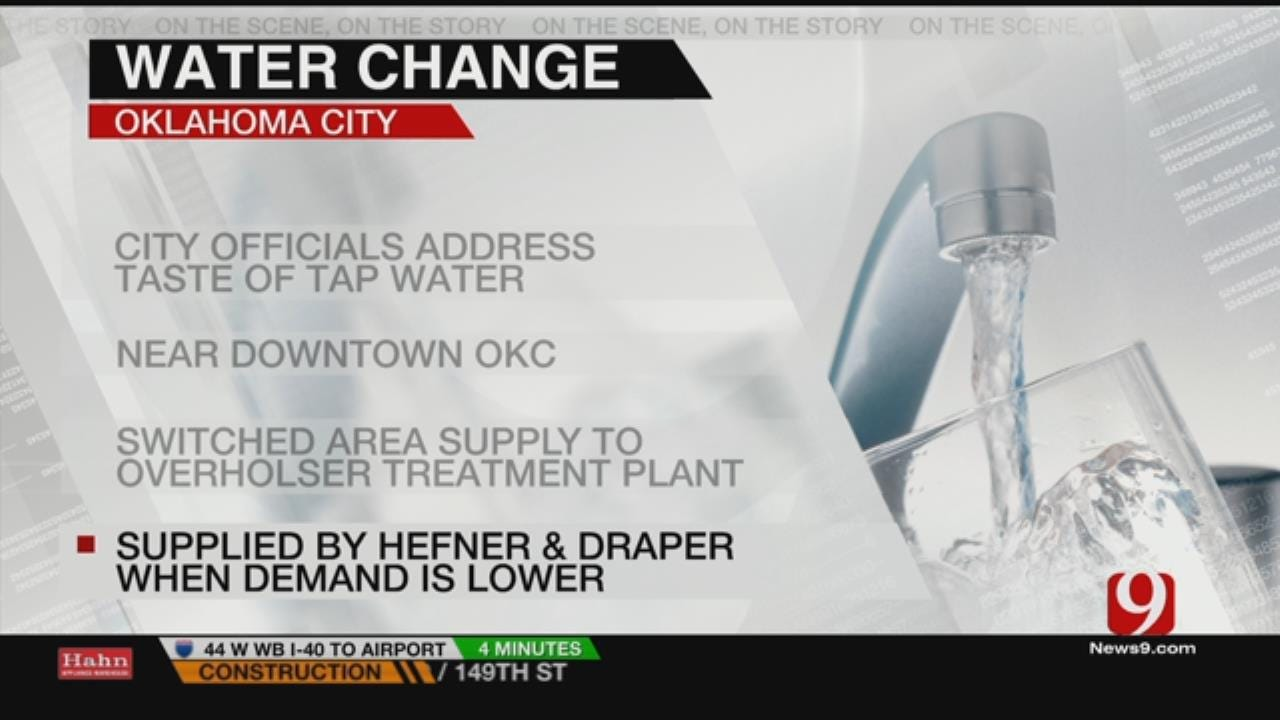 Tap Water Taste A Bitter Issue For OKC Downtown