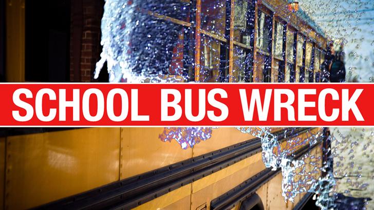 Authorities Respond To School Bus Crash Near Deer Creek
