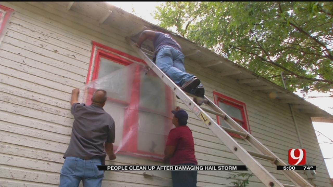Coyle's Volunteer Fire Department Helps Residents With Storm Damage Cleanup