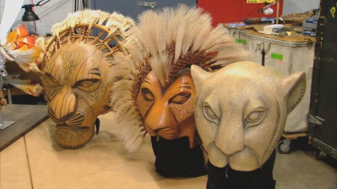 News 9 Goes Behind The Scenes Of The Lion King