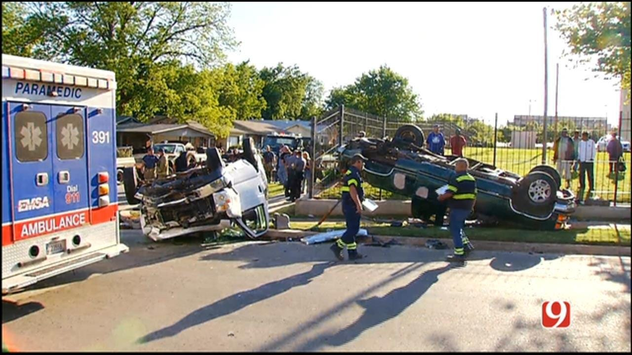 NE OKC Rollover Crash Victim Faces Long Road To Recovery