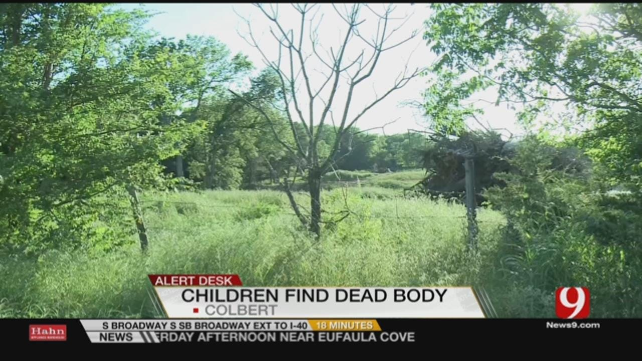 Boys Find Body In Field In Colbert Over the Weekend