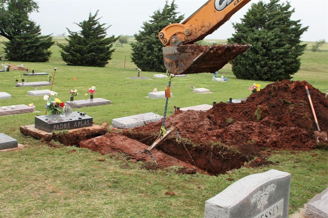 Priest's Remains Exhumed In Process Of Being Named Saint