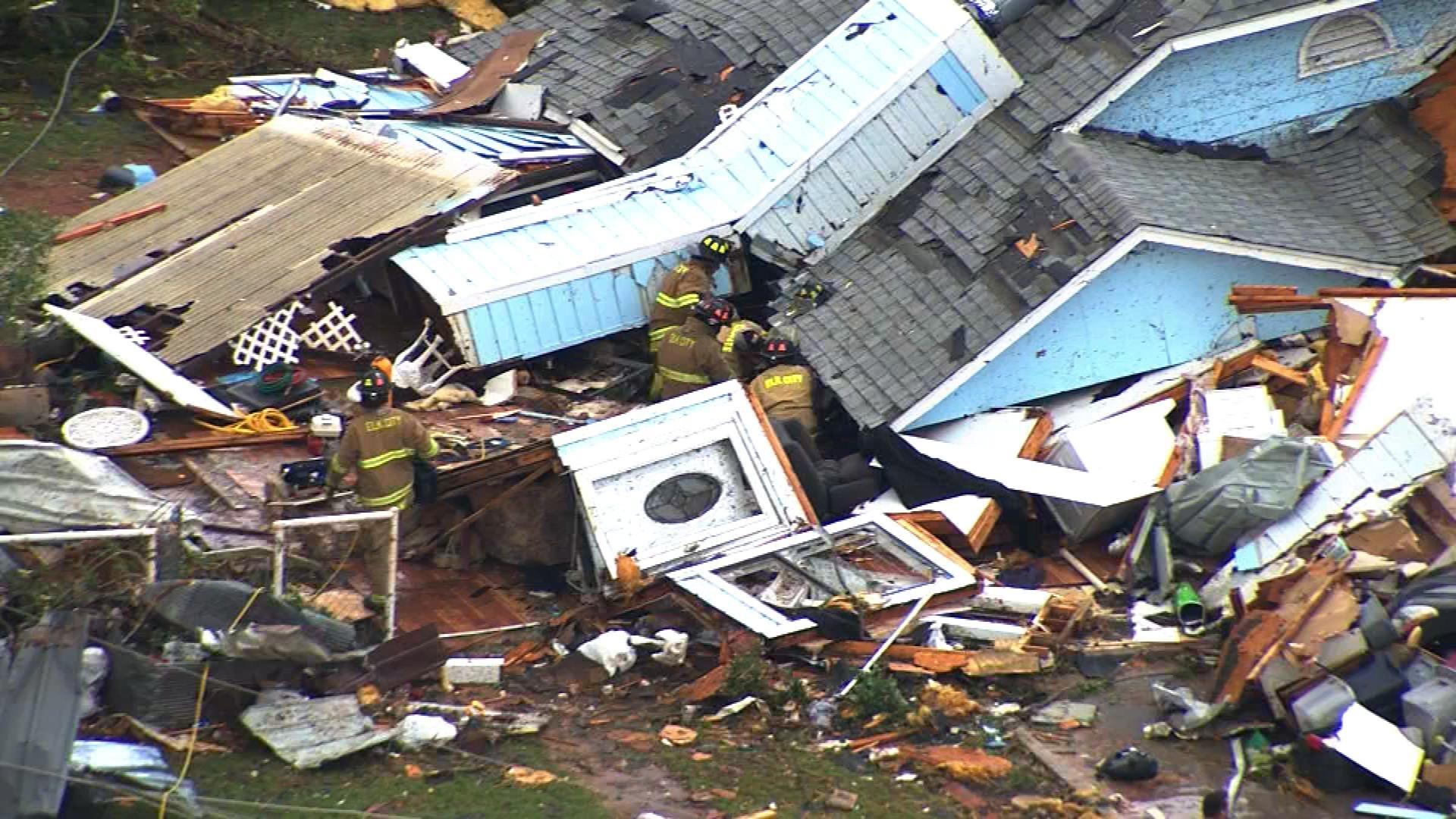 Cleanup Begins In Elk City After Tornado Levels Homes