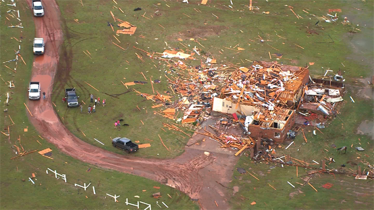 Tornado Victims Asked To report To City Hall