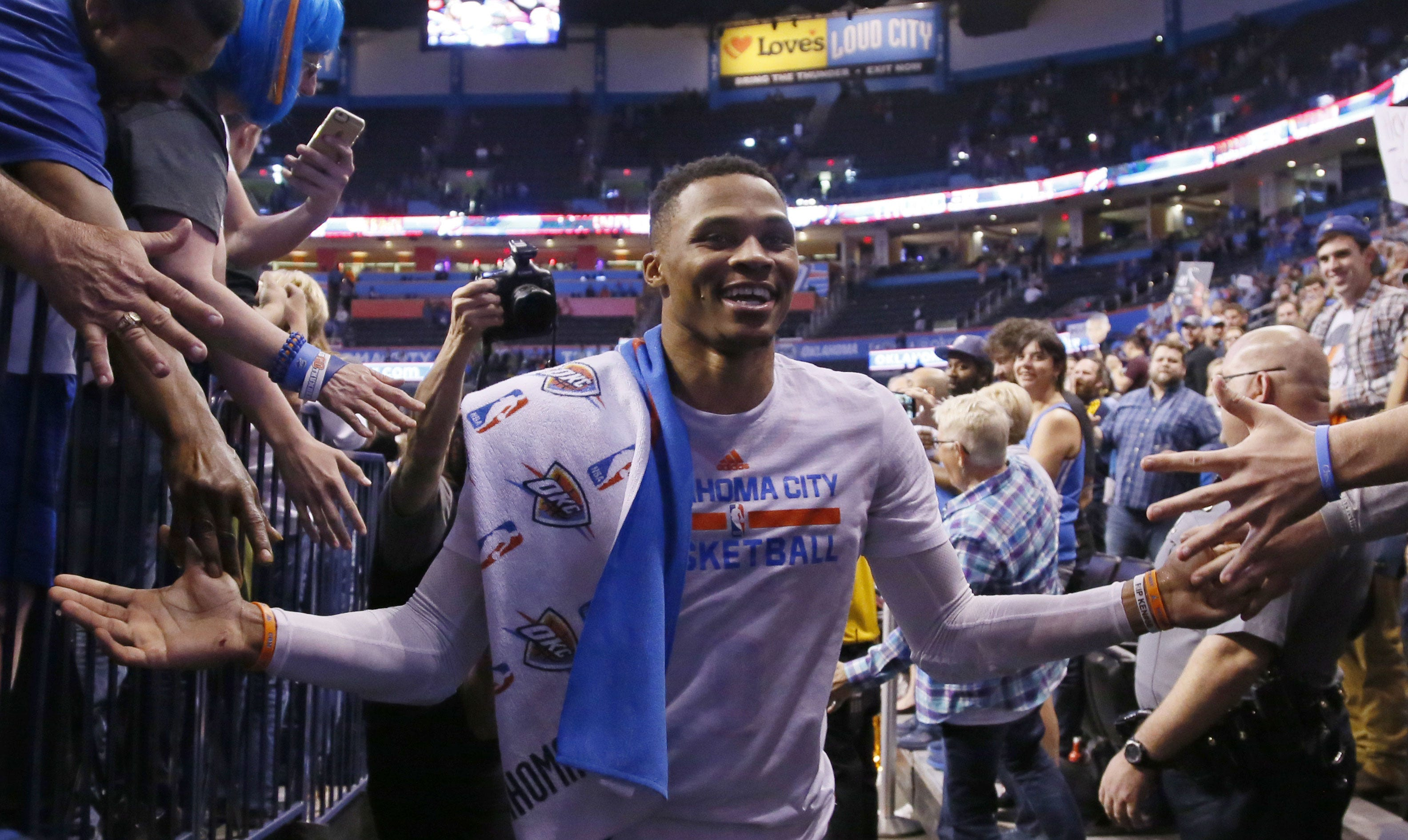 Russell Westbrook Named First-Team All-NBA