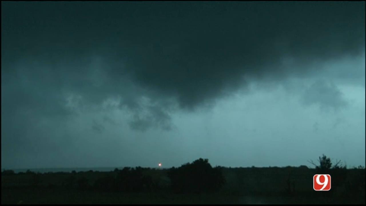 Tornado Forms East Of Springer, In Carter County