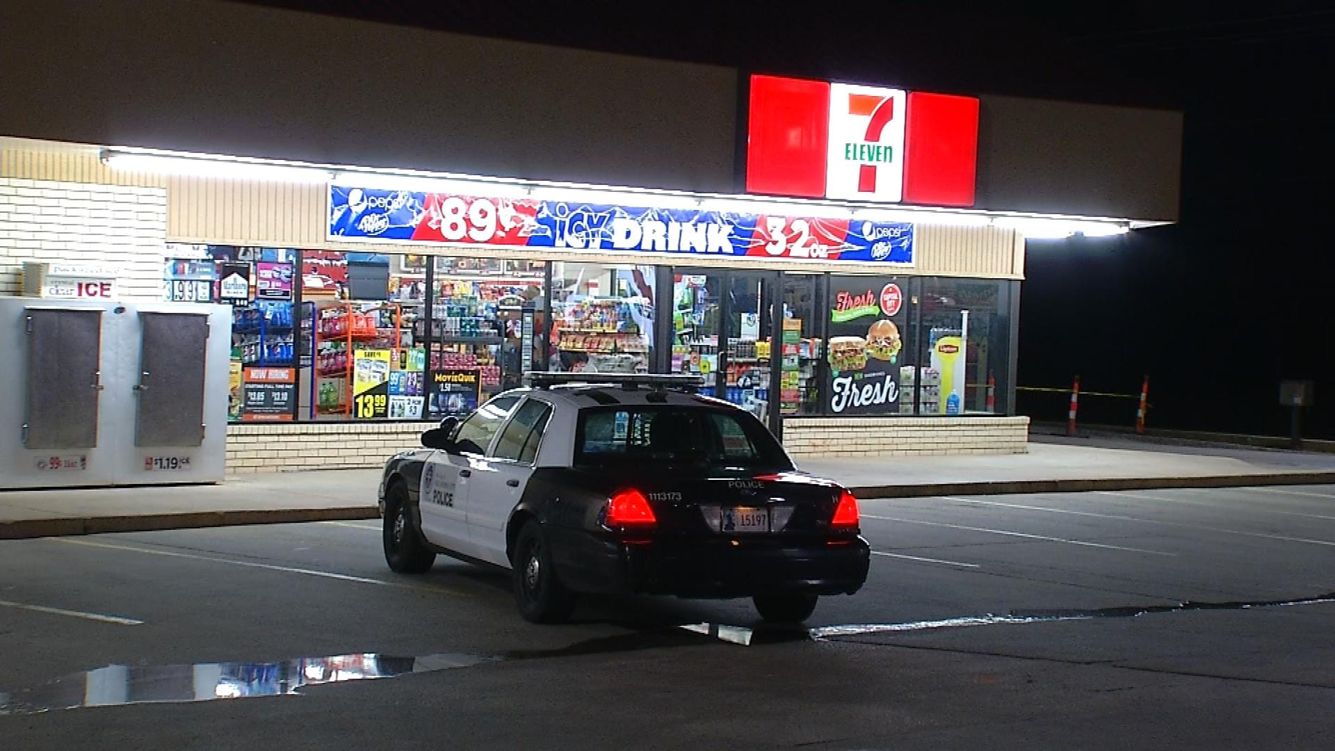 Armed Robber Holds Up NW OKC Store Overnight