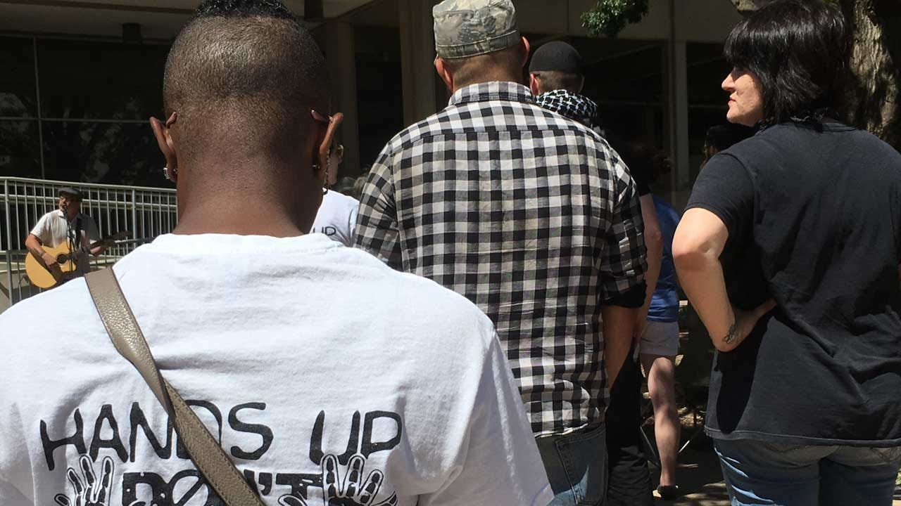 OKC Activists Gather To Demand Police Accountability After Tulsa Verdict