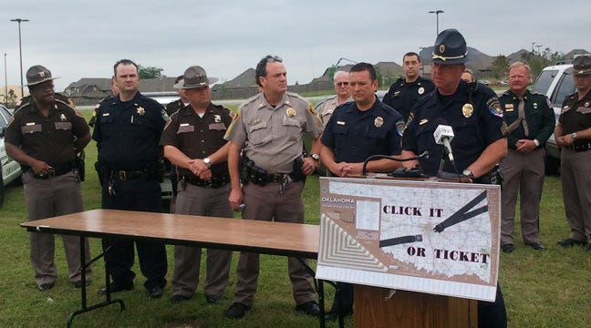 """""""Click It Or Ticket"""" Campaign Begins Nationwide Today"""