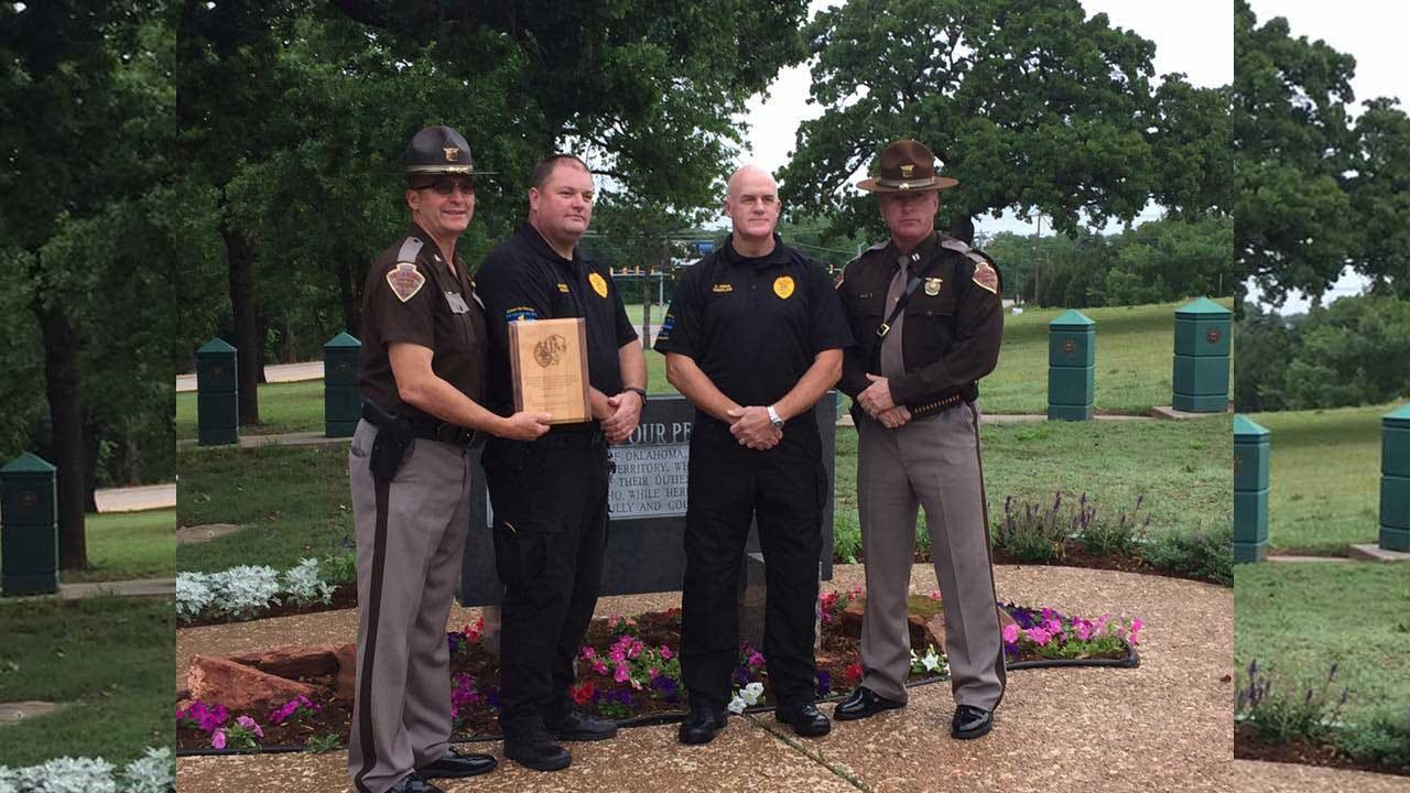 San Diego Police Honor Fallen Oklahoma Officers