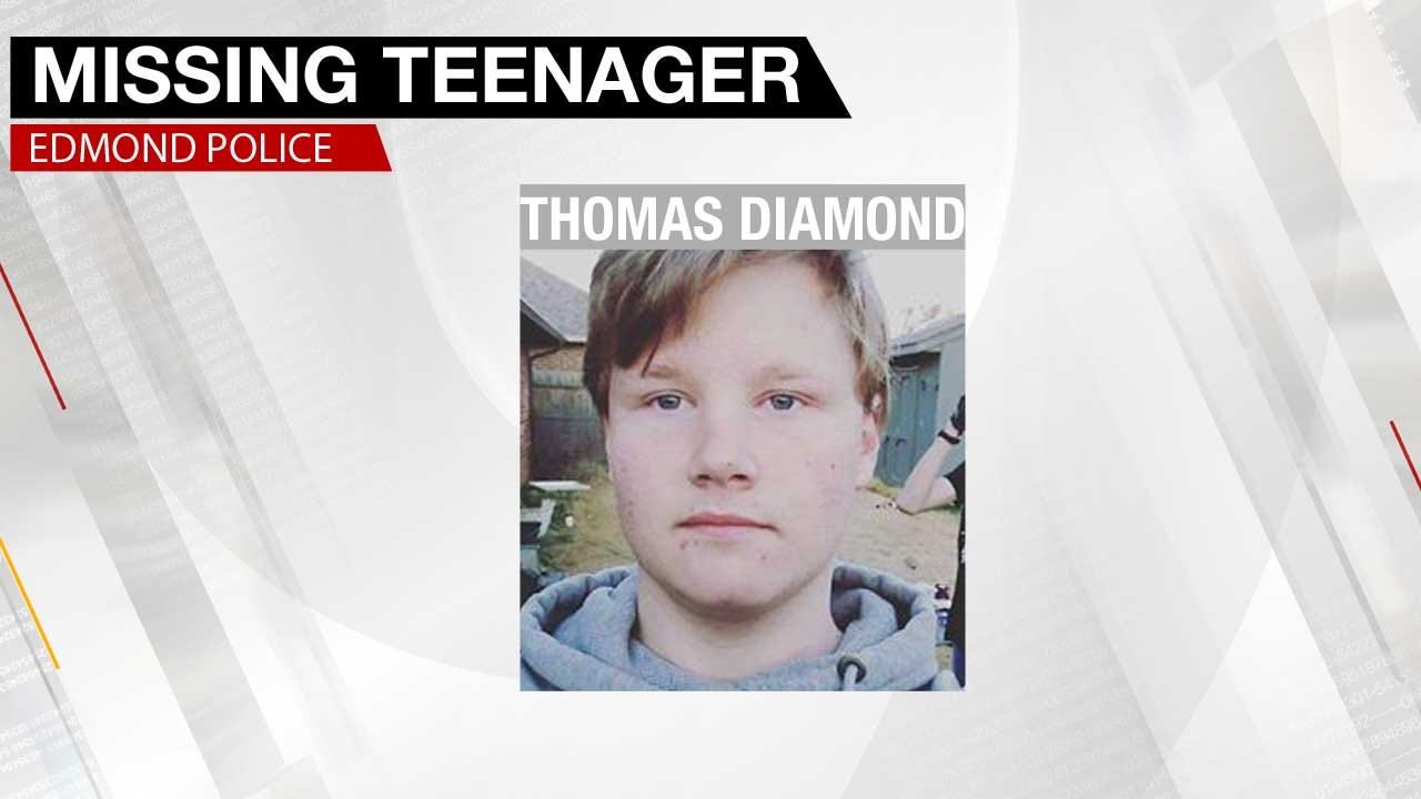 Edmond Police Search For Missing Teen Boy
