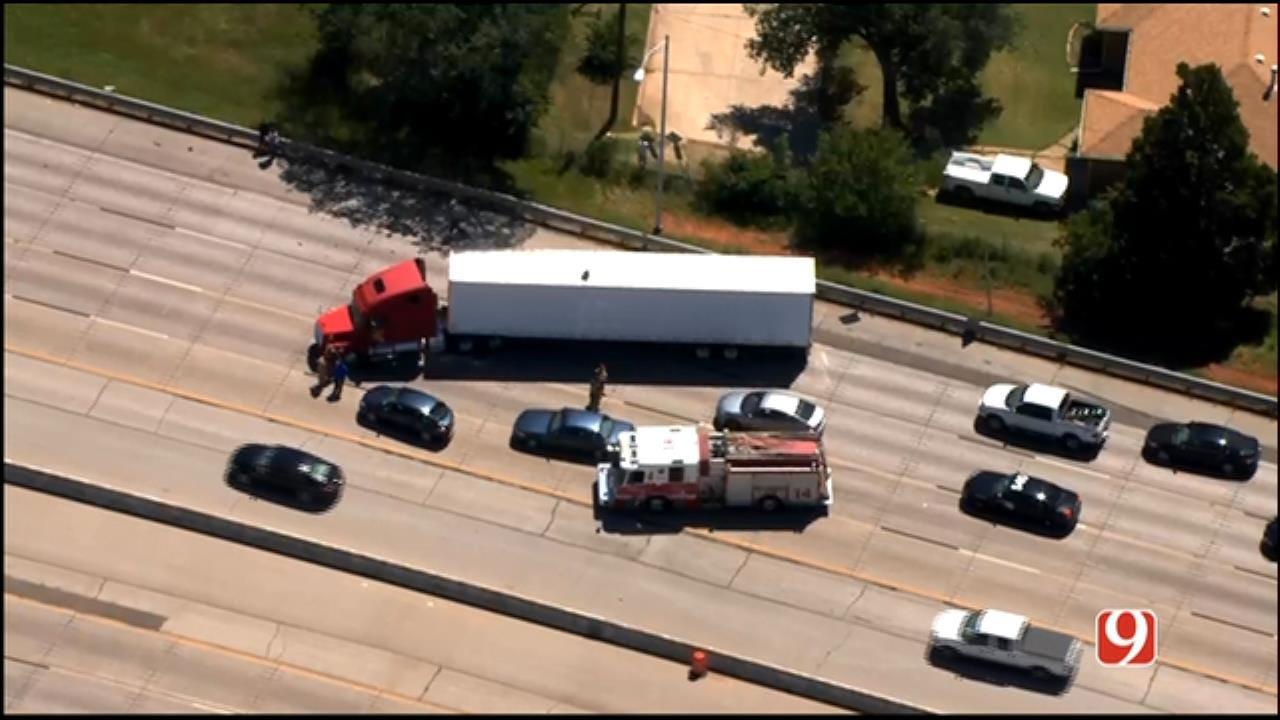 Multi-Vehicle Crash Off I-44 & NW 36th In OKC