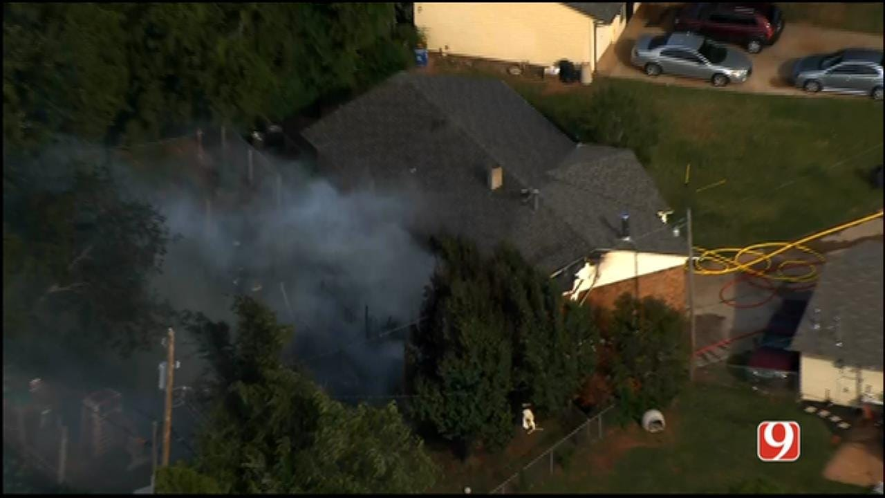 Crews In Warr Acres Respond To House Fire