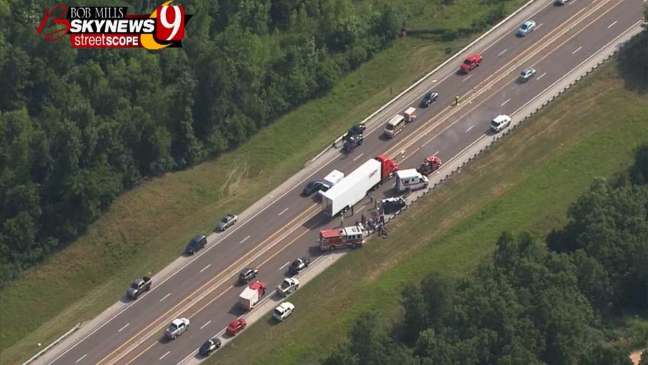 Witness Notices Erratic Driver Of Deadly Turner Turnpike Crash