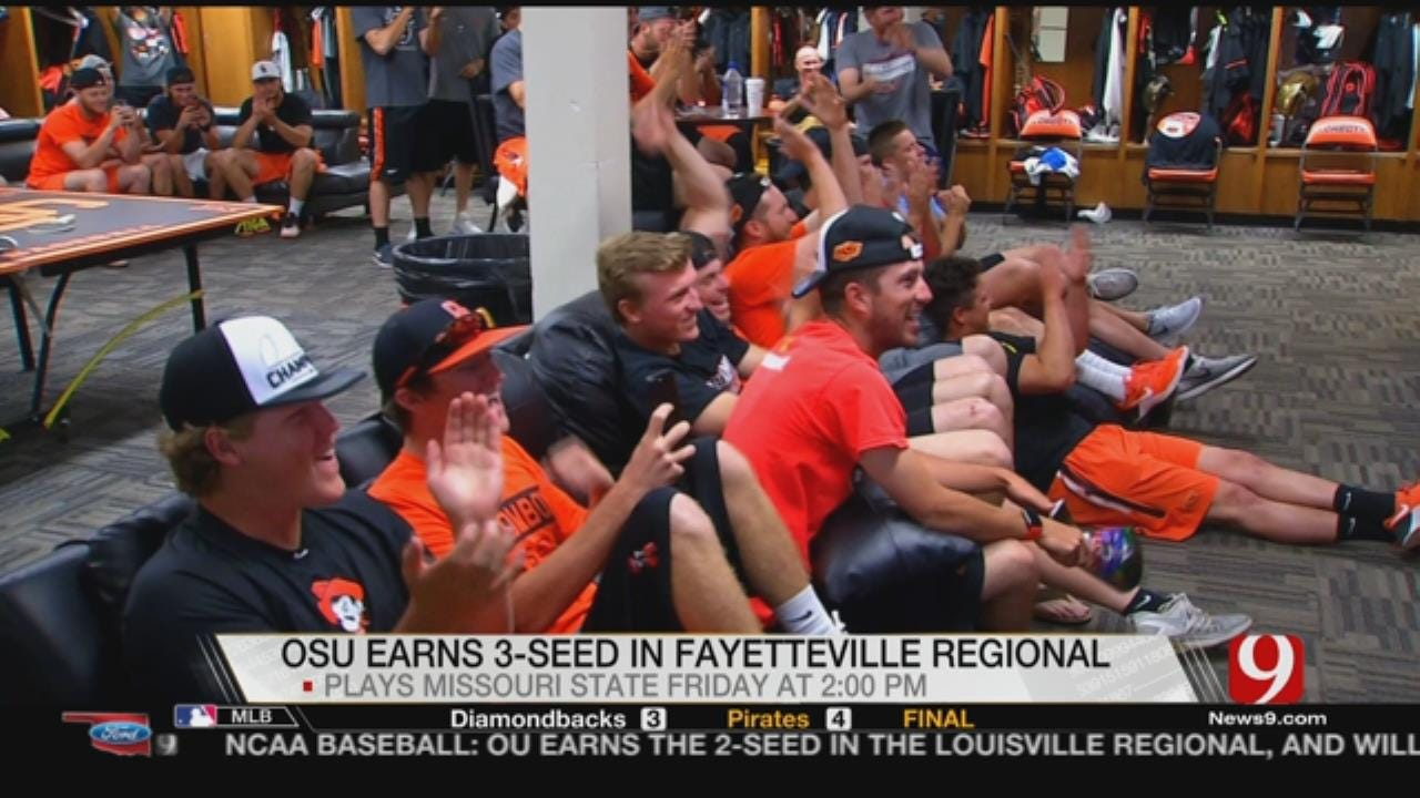 OSU Baseball: Cowboys Headed To NCAA Fayetteville Regional