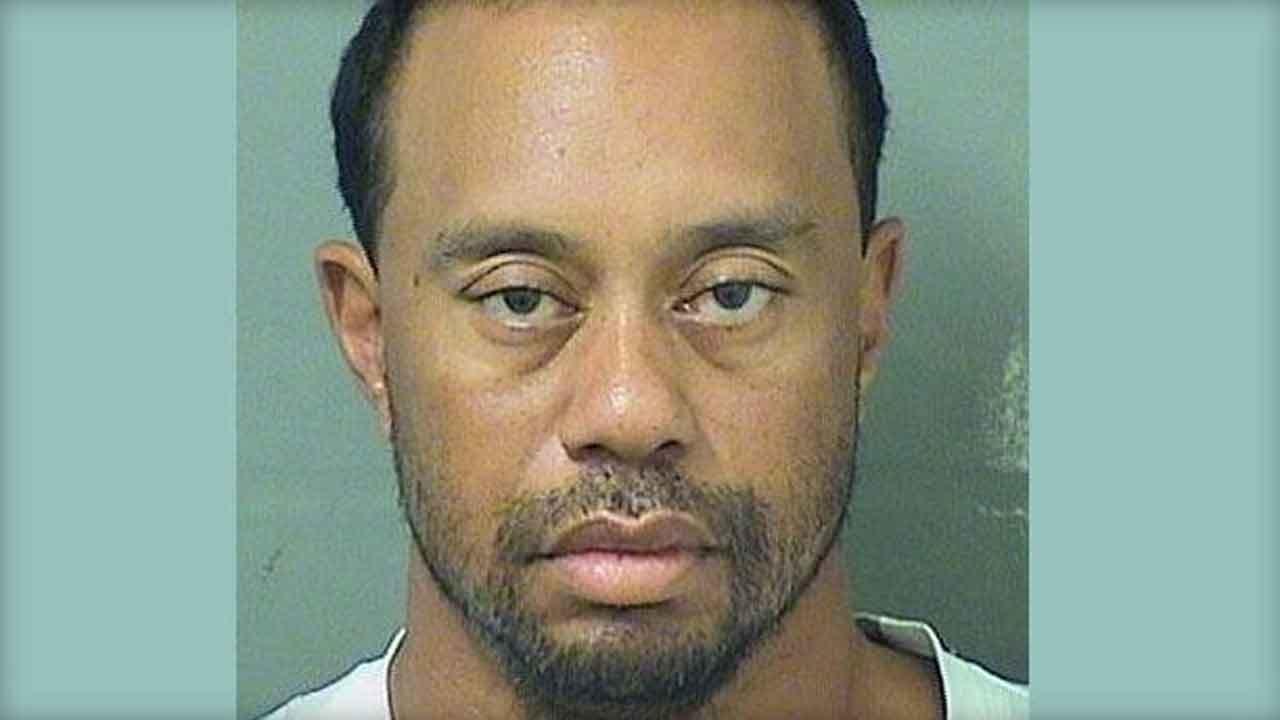 Tiger Woods Arrested On Suspicion Of DUI