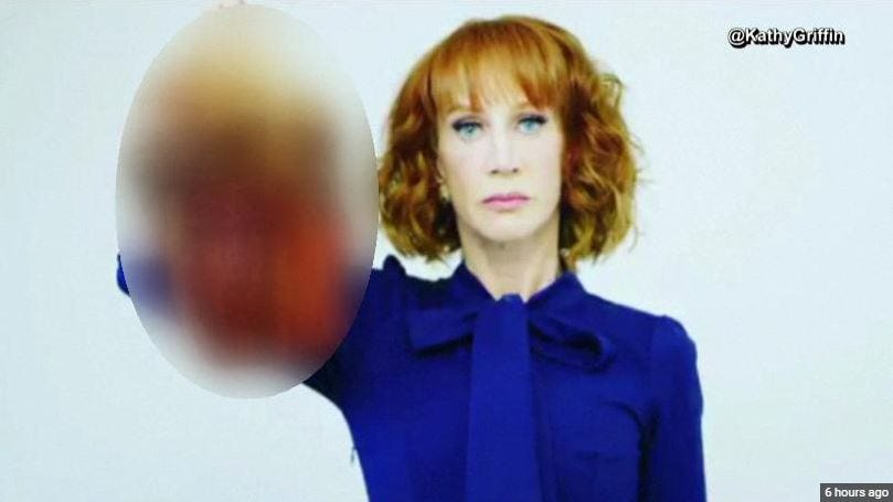 CNN Fires Kathy Griffin Over 'Beheaded' Trump Photo