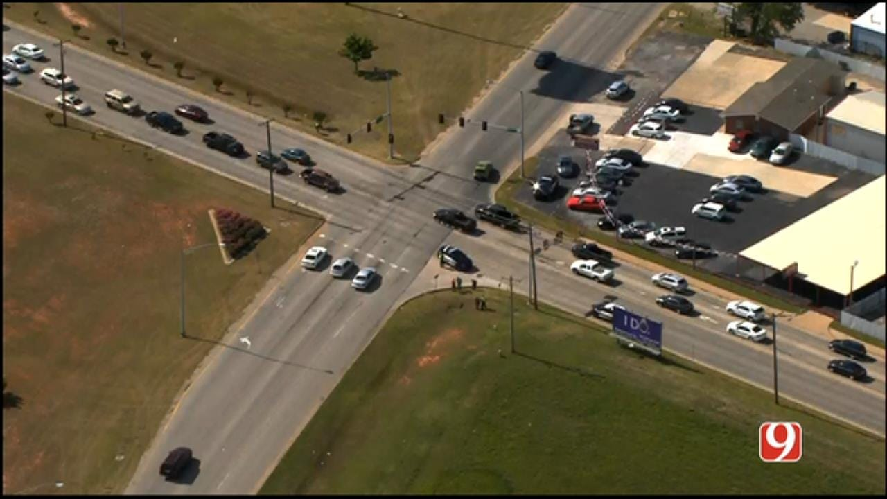 Pedestrian Reportedly Struck By Vehicle In Moore