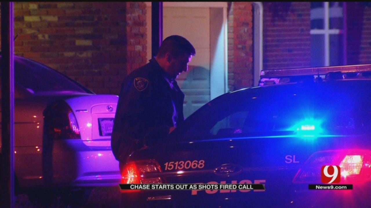 OKCPD Led On Short Chase Early Saturday