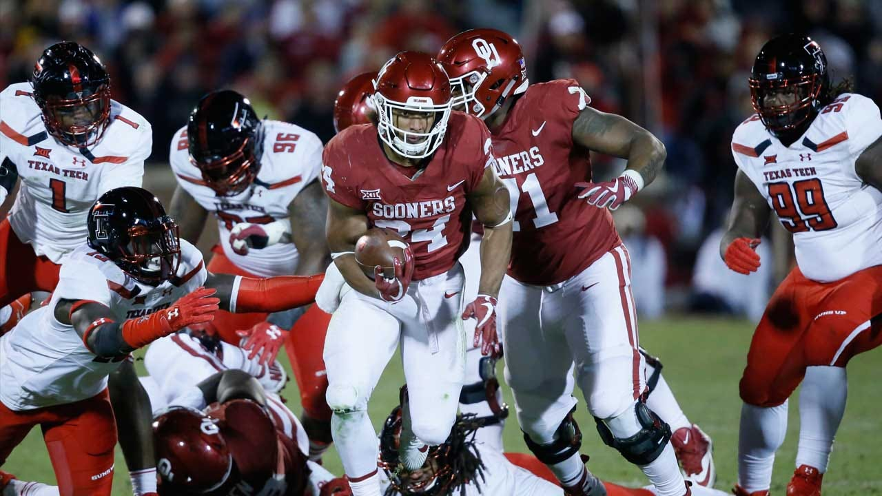 Rodney Anderson Named Big 12 Offensive Player Of The Week