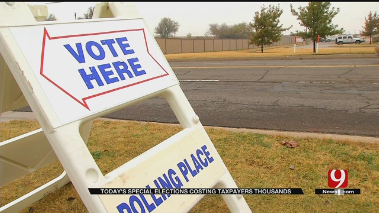 Special Elections Cost Taxpayers Thousands