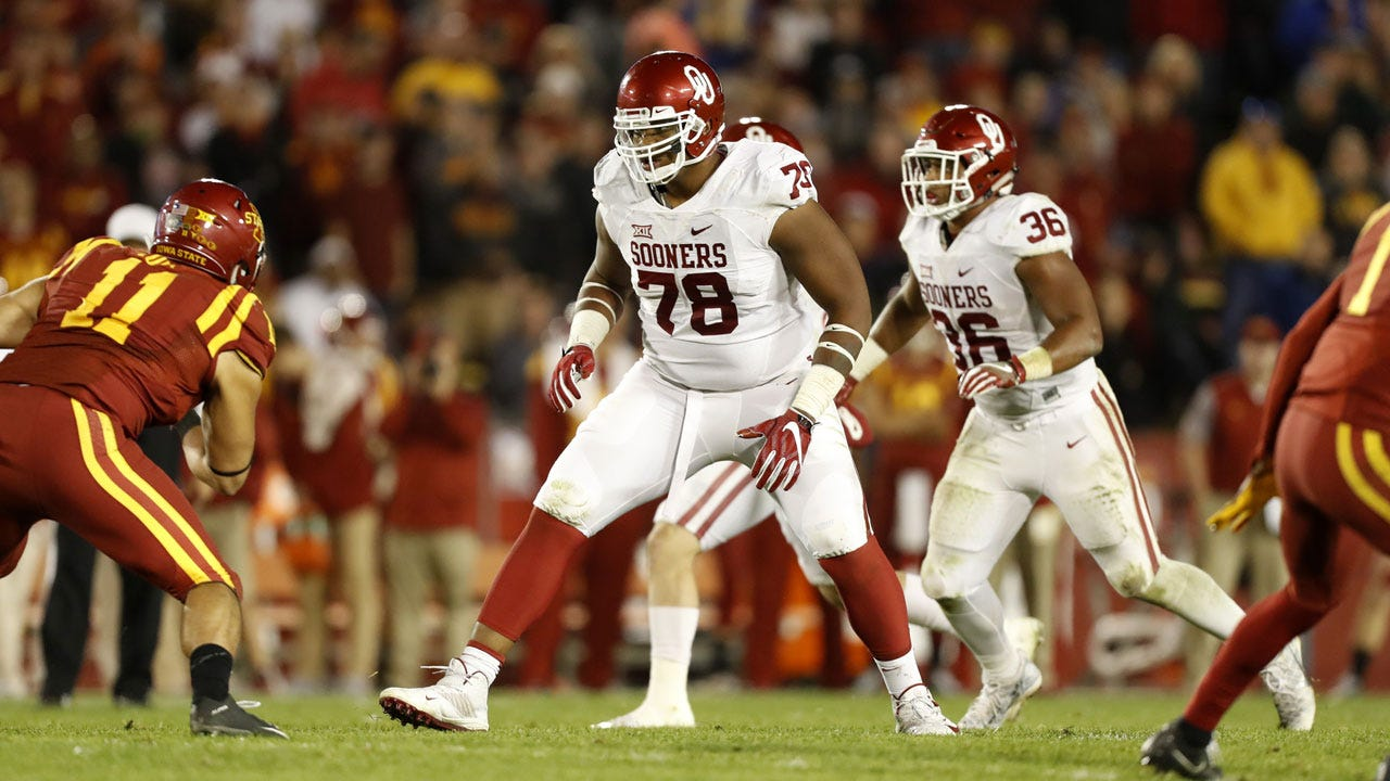Orlando Brown Named Semifinalist For Outland Trophy