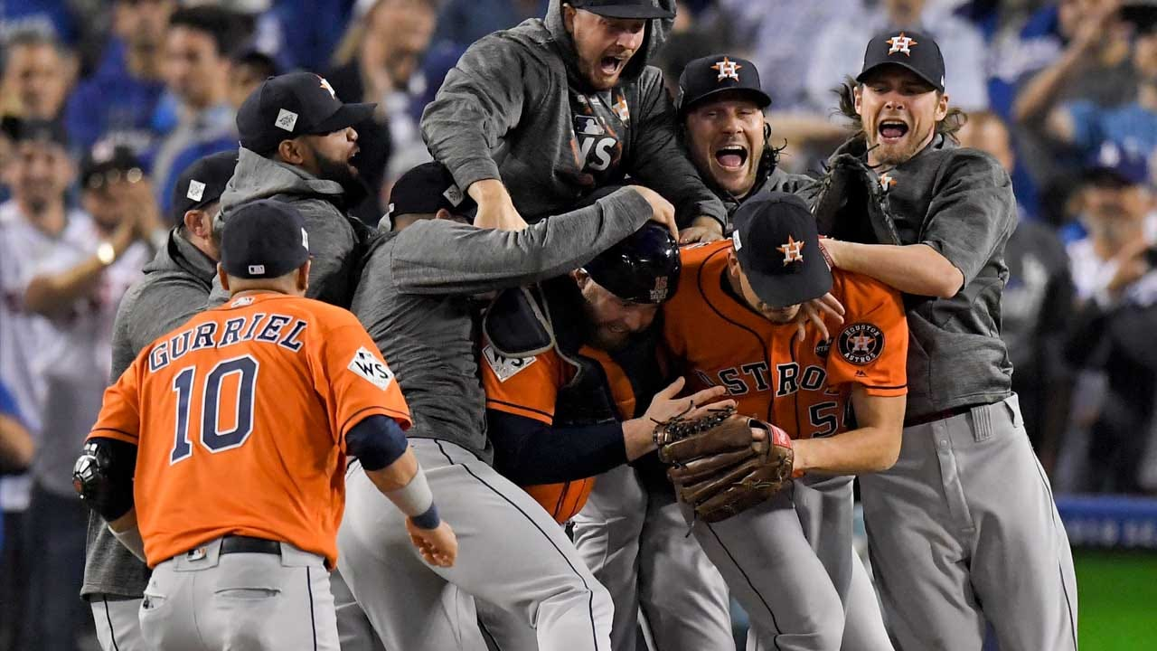 Astros Top Dodgers To Win First World Series In Franchise History
