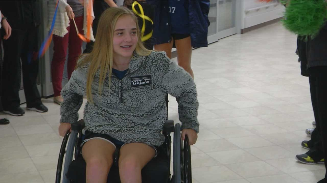13-Year-Old Leaves Hospital After Horrific Purcell Crash