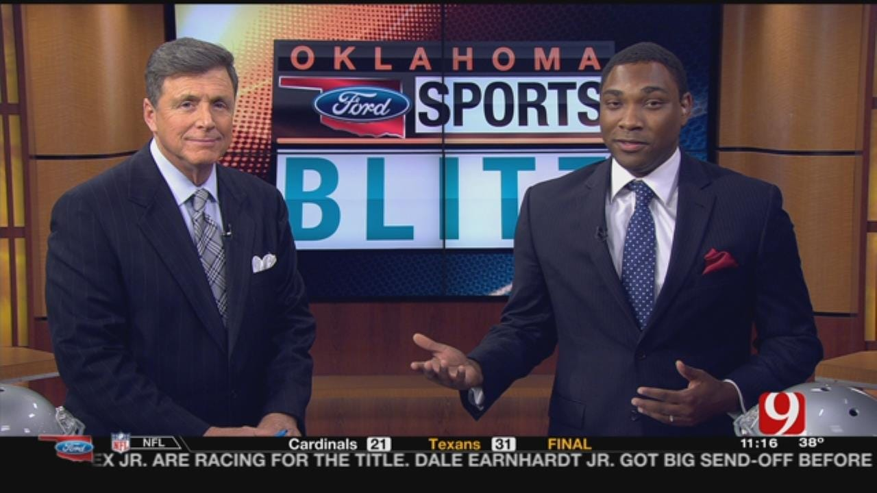 Oklahoma Ford Sports Blitz: November 19