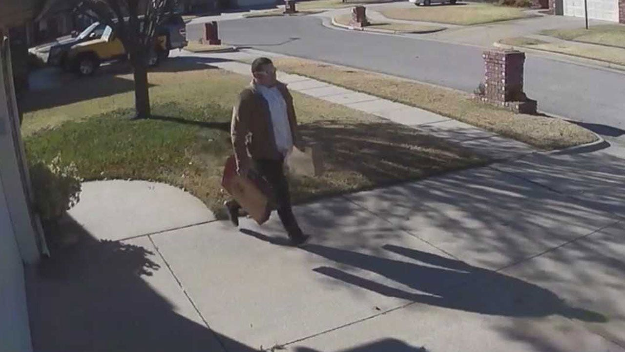 Packages Stolen Minutes After Delivery In SW OKC