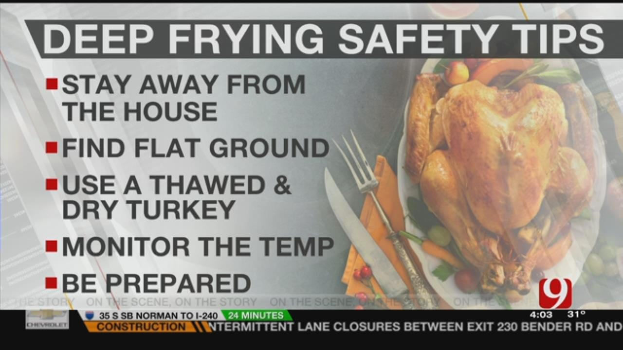 Fire Department Stresses These Tips For Cooking Fried Turkey