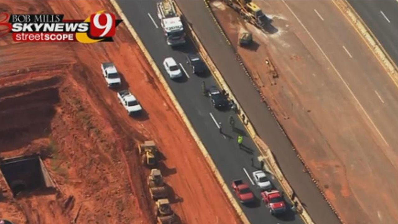 Pedestrian Reportedly Struck By Vehicle On NB I-235