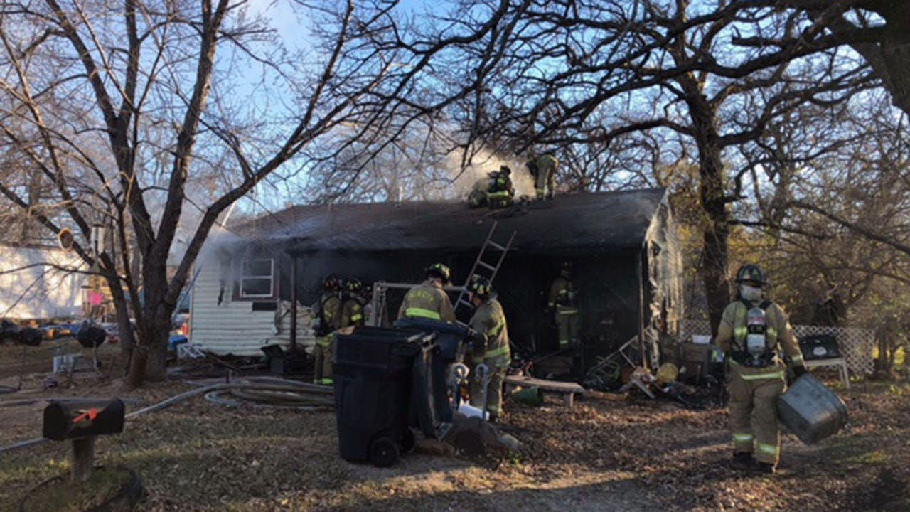 Dog Killed, Woman Injured In NW OKC House Fire