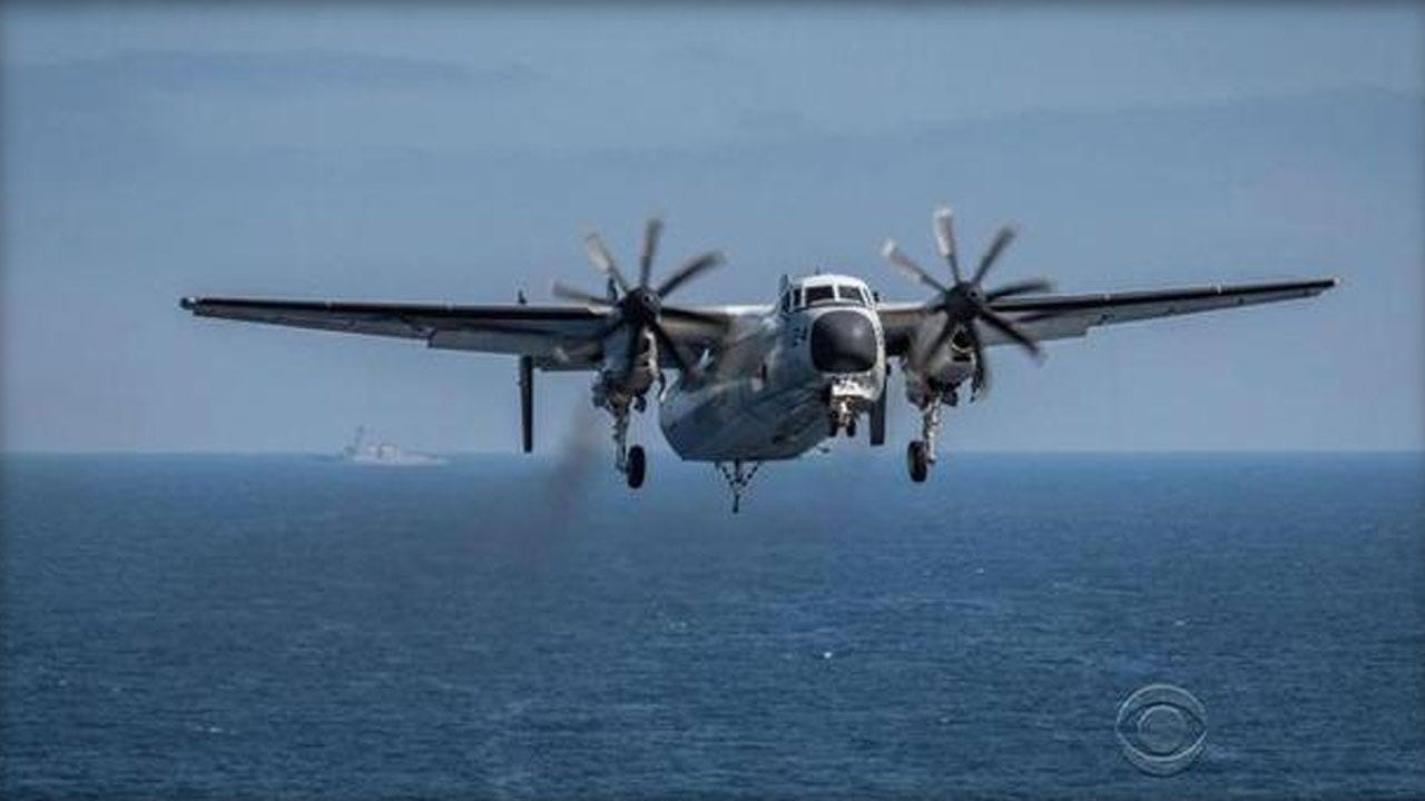 Ships, Aircraft Search For 3 U.S. Sailors Missing In Crash