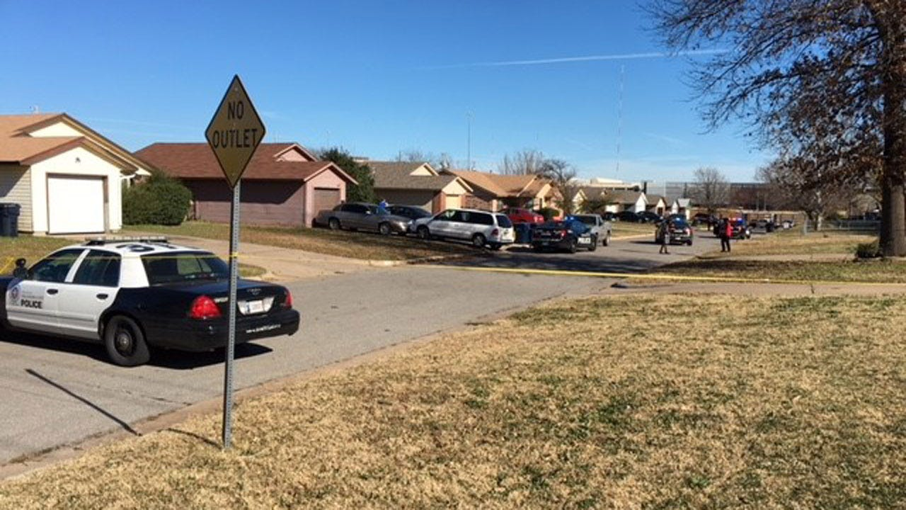 One Injured, Suspect Sought After Shooting In NW OKC Neighborhood