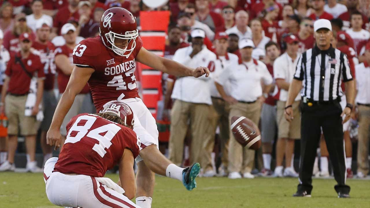 Austin Seibert Named Big 12 Special Teams Player Of The Week