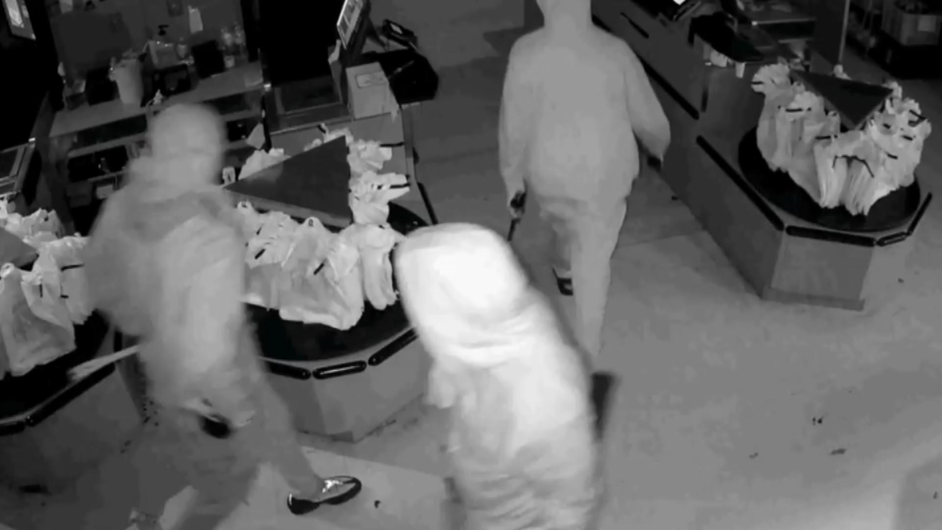OKCPD Seek Suspects In Grocery Store Robbery