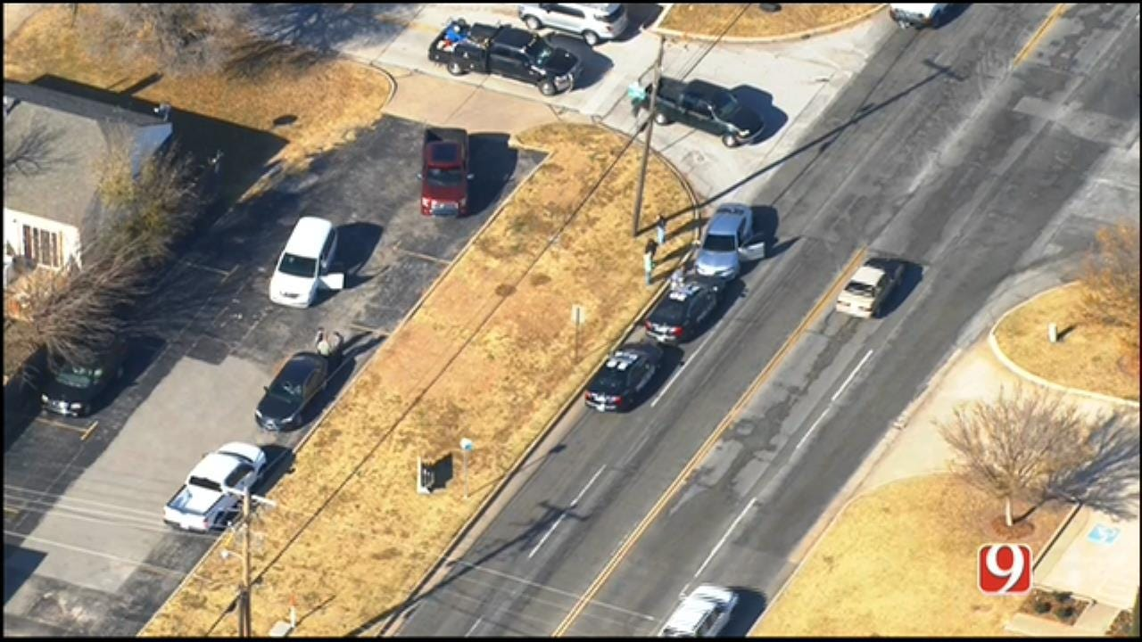 Suspect Arrested Following Brief Pursuit In NW OKC