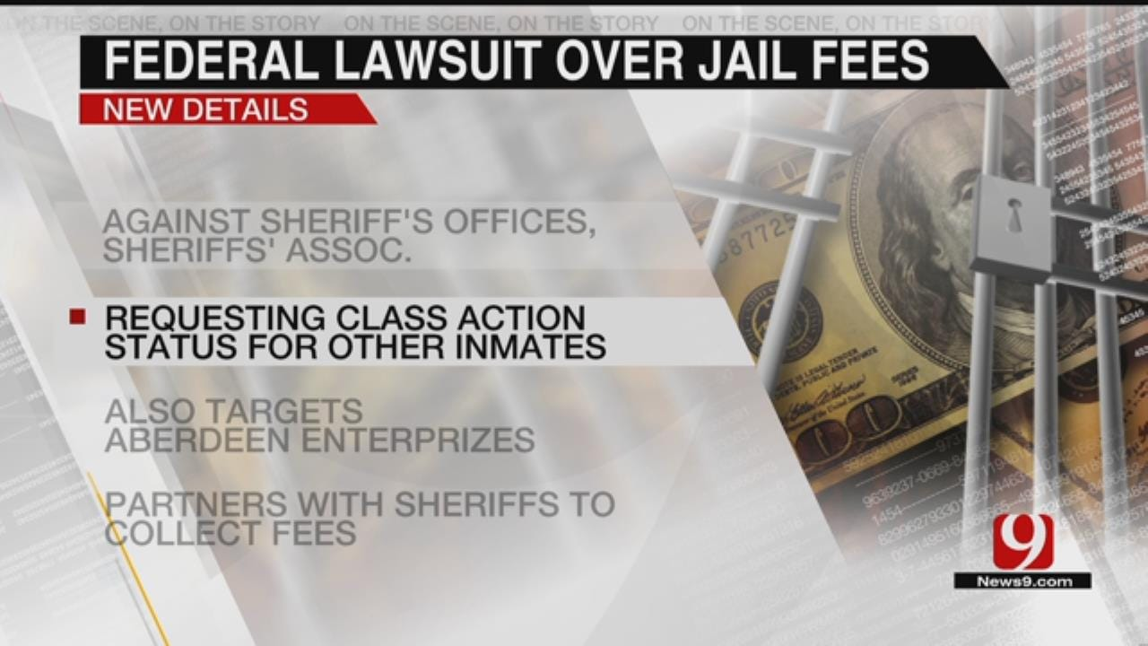 Inmate Files Federal Lawsuit Against OK Sheriff's Offices Over Court Fines