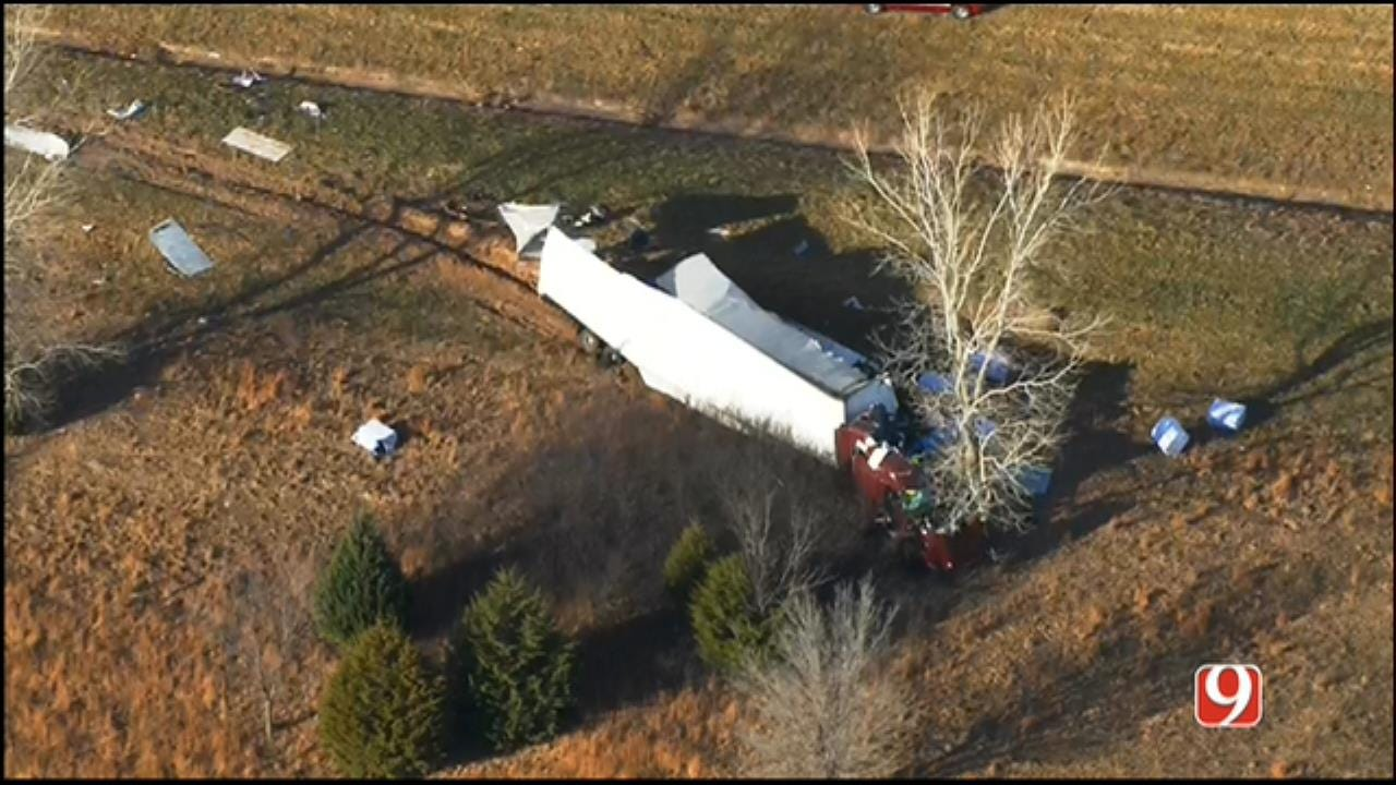 Emergency Crews Respond To Fatal Crash Near Shawnee